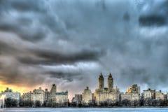 New York City Manhattan reservoir Royalty Free Stock Images