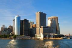New York City Manhattan skyline Stock Image