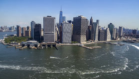 New York City - Manhattan skyline from above Stock Photo