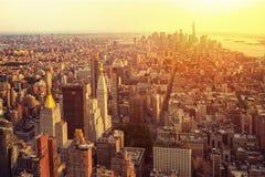 Free New York City Manhattan Skyline Aerial View Stock Photos - 183318573