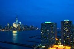 New York City Manhattan skyline Royalty Free Stock Images