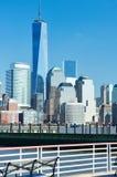 New York City Manhattan skyline Royalty Free Stock Photo
