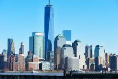New York City Manhattan skyline Royalty Free Stock Image
