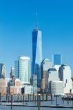 New York City Manhattan skyline Stock Photos