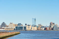 New York City Manhattan skyline Stock Images
