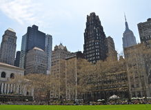 New York City Manhattan skyline. USA Royalty Free Stock Images