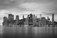 New York City - Manhattan skylines, NYC, USA Stock Photo