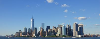 New York City And Manhattan Royalty Free Stock Images