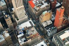 New York City Manhattan street Stock Photos