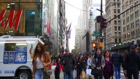 New york city manhattan street life traffic view 4k usa. Usa new york city manhattan street life traffic view 4k stock video footage