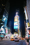New York City Manhattan Time Square night Stock Images
