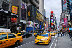 New York City Manhattan Times Square Stock Photo