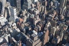 The New York City Manhattan Uptown Royalty Free Stock Image