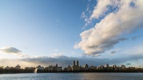 New York City Manhattan reservoir Stock Photography
