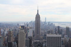 New York City Manhattan view Empire State Building Stock Images