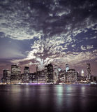New York City Manhattan view Stock Images