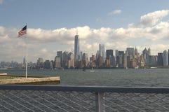 New York City Manhattan 2014 VIEW. New York City Manhattan view, September 2014 royalty free stock image