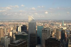 New York City Manhattan 2014 VIEW. New York City Manhattan, September 2014 royalty free stock image