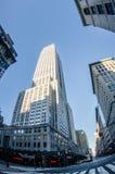 New York City Manhattan   viw with skyscrapers Stock Photo