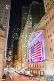 New York City Manhattan Wall Street Stock Photo