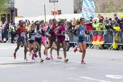 New-York-City-Marathon 2014 Lizenzfreie Stockbilder