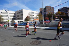 The 2014 New York City Marathon 151 Royalty Free Stock Photos