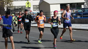 The 2014 New York City Marathon 173 Royalty Free Stock Image