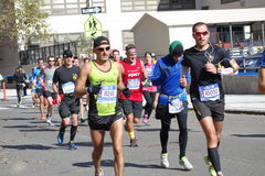 The 2014 New York City Marathon 232 Stock Image