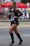 New York City Marathon runners traverse 26.2 miles through all five NYC boroughs Stock Image