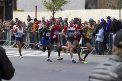 New York City maraton 2014 Arkivbilder