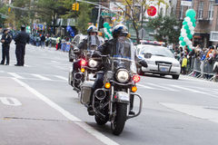 New York City maraton 2014 Arkivbild