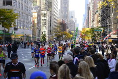 New York City maraton 2016 Arkivbild