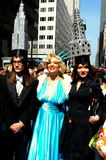 New York City: Marilyn Monroe and Friends at Easter Parade Royalty Free Stock Image