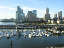 From new york city and marina views from a different angle Royalty Free Stock Photography