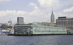 New York City Marine and Aviation Pier Royalty Free Stock Photos