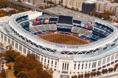NEW YORK CITY - MAY 22, 2013: Yankee Stadium, aerial view. Home Stock Photo
