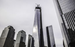New York City - 911 Memorial. The photo was taken in March, 2013 in New York City Royalty Free Stock Photography
