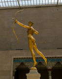 New York City The Met Diana Sculpture Royalty Free Stock Image