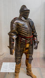 New York City The Met Henry VIII Armor Royalty Free Stock Photo