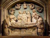 New York City The Met Jesus Christ Sculpture Royalty Free Stock Image