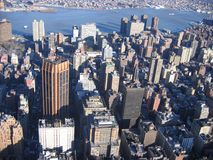 New York City, metropolitan area, city, urban area, metropolis. New York City is metropolitan area, metropolis and skyline. That marvel has city, skyscraper and royalty free stock photography