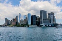 New York City Midtown Manhattan fotografering för bildbyråer