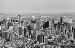 New York City - Midtown Manhattan Sky View Stock Photography