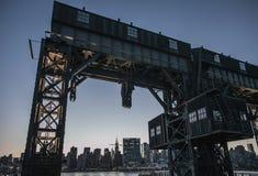 New York City - Midtown Manhattan Sunset View Royalty Free Stock Photography