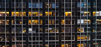 New York City-Midtown Offices stock image