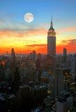 New York City midtown skyline Royalty Free Stock Photos