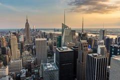 New York City midtown skyline. Stock Photo