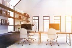 New York City modernt kontor Arkivbilder