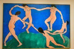 New York City MOMA - Henri Matisse - The Dance stock photos