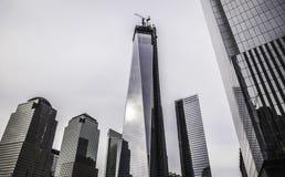 New York City - monumento 911 Fotografía de archivo libre de regalías